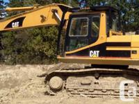 1999 CAT 325CL, 3344 hours, engine and hydraulics in
