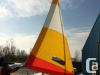 2012 CL fourteen sailboat with foresail furling and new