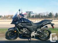 Honda Canada Demo Bike - Awesome bike. Awesome