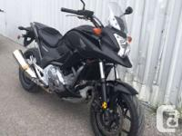 2012 Honda NC700XIt�s a jungle out there. City traffic,