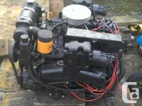 For sale Mercruiser 5.7 liter or 350 C.I. Vortec with 4