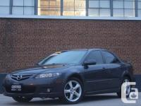 2007 MAZDA six GT PACKAGE,AUTOMATIC,GRAY ON BLACK