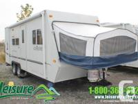 2004 KZ Coyote 22C * Sleeps 10- Double 20 pound Propane
