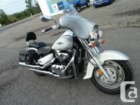 Smooth air cooled, fuel injected 1462cc V Twin Full
