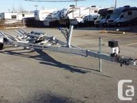 Karavan Aluminum I beam 8400 pound Bunk Boat Trailer