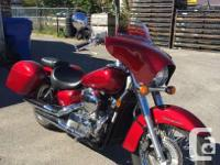 2008 Honda VT750 Shadow TourHot performance and a cool