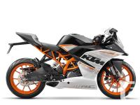 New RC390 - Taking deposits now !A sports bike in its