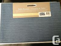 """Table Runner 57% polyester, 43% Cotton 14"""" * 72"""" / 36"""