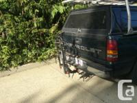 This heavy duty 5 bike carrier locks onto your standard
