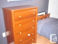 """5 drawers 31""""w x 18""""d x 45""""h excellent condition"""