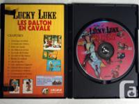 5 DVD LUCKY LUKE NTSC Colour Animation, Bande dessinée