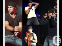 I have 5 hard copy Luke Bryan tickets for the Vancouver