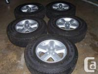 (5) BRAND NEW Aluminum Wheels & Tires for Jeep