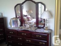 This bedroom suite is in awesome condition and a steal