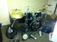 SX Drum set is 10 years old. Great for