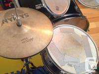 5 piece drum set. CB percussion, originally from Long