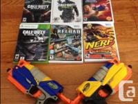 Up for grabs are the following: Xbox 360 COD: Ghosts -