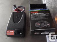 Curt Brake Controller Model #51130, as new in box with