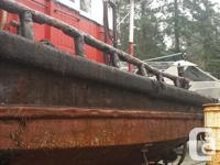 50' A frame tug boat (steel) CSI ran out Sept 2014 2 20