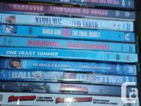 .50 Cents ea.Various comedy DVD's previously viewed in