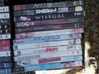 .50 Cents ea.Various general / family DVD's previously