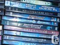 .50 Cents ea.Various SCI- FI DVD's previously viewed in