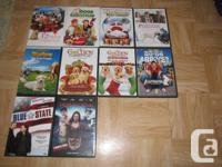 Hi, I am selling the following DVDs. They are all