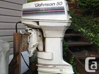 Long shaft Johnson 50 hp outboard 2-stroke (not power