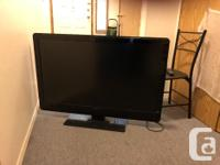 In excellent condition with the remote. Tv has 3 hdmi's