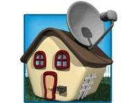 Satellite dish repair and /or installation from a