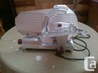 Top quality Italian made commercial slicer made by