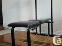 York 5000 Bench Press Workout Bench. Fit. No holes.