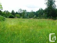 . A rare discover. 14.7 acres of level land with 2 road