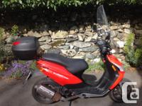 Year 2008 kms 6200 2008 Derbi Bullet 50cc scooter with