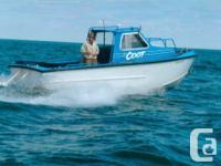 "~~1987 24' x 8'2"" Hike built Aluminum Work Boat /"