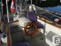 45 feet on deck. Year: 1979 Engine/fuel type: Single