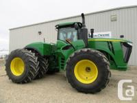 9520R 2015 John Deere 9520R, Articulated four