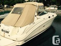 boat is in nice shape ,newer Raymarine electronics