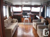 Well maintained classic 53 foot 1972 Hatteras Motor