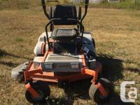 "FOR SALE AS IS!!!! I have 2- 54"" Beast Zero Turn mowers"
