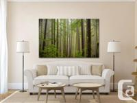Stunning fine art canvas print depicting a typical