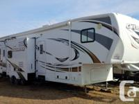 2012 Heartland Cyclone Toy Hauler for sale. Sleeps 11.