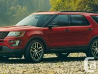 Description: This 2016 Ford Explorer Limited will