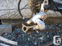54cm jamis road bike.......T6 6061 aluminum frame, seat