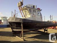 1995 21' x 9.5' x 4.5' aft Steel TugboatBuilt by