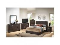 Platform Customizable Bedroom Set Fashionable Style
