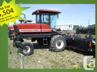 2952 2002 Mac Don 2952, Windrowers, Rotoshears, poly