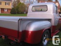 I have, I am sorry to say a 56 Dodge Custom-made Pickup