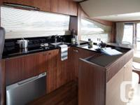 The new Princess 56FYperfectly combines a spacious and