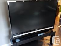 "I am selling a 56"" Samsung 1080p DLP HD TV with TV"